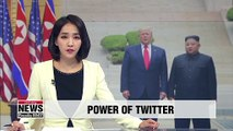 Kim Jong-un called within 10 minutes of Trump's Twitter invitation to meet at DMZ: Trump