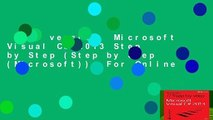 Full version  Microsoft Visual C# 2013 Step by Step (Step by Step (Microsoft))  For Online