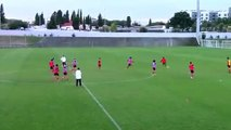 Séance entrainement football - Benfica  - Conservation progression - U16 _ U17 - Football tactics