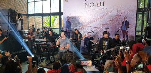 Noah Cerita Di Balik Album 'Keterkaitan Keterikatan' Saat Acara Media Gathering