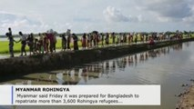 Myanmar says it is ready for repatriation of over 3,600 Rohingya refugees