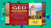 GED Preparation 2019 All Subjects: GED Study Guide 2019 All Subjects Test Prep Book   Practice