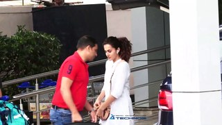 Akshay Kumar, Taapsee Pannu & Others At Airport Return From Delhi Promotion 'Mission Mangal'