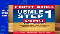 D.O.W.N.L.O.A.D  First Aid for the USMLE Step 1 2019,  Twenty-ninth edition Best Sellers by Tao Le