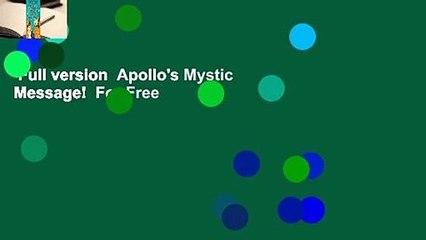 Full version  Apollo's Mystic Message!  For Free