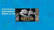 F.R.E.E [D.O.W.N.L.O.A.D] Dottir (International Edition) Best Sellers by Katrin Davidsdottir