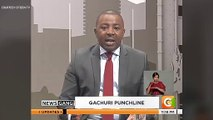 CITIZEN TV ANCHOR FORGETS LINES ON LIVE SHOW