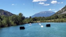 Hautes-Alpes : avec le téléski nautique, de nouvelles sensations de glisse