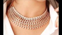 American diamond necklace set design ideas-AD jewelry design ideas for wedding season