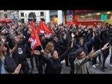 À Paris, l'hommage des soutiens de Clément Méric sur les lieux de sa mort