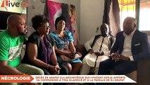 l'archevêque Guy-Vincent Kodja apporte sa compassion à Tina Glamour et à la famille de DJ Arafat