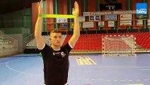 JS Cherbourg handball : au coeur de la préparation des Mauves