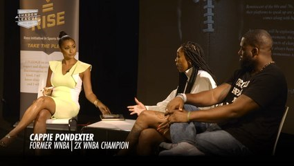Cappie Pondexter Speaks On The NCAA And The Rich Paul Rule