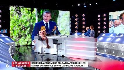 Les GG veulent savoir : Des rues aux noms de soldats africains, les maires doivent-ils suivre l'appel de Macron ? - 16/08