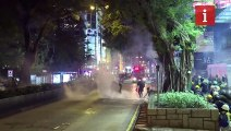 Hong Kong protests enter tenth week with clashes at airport