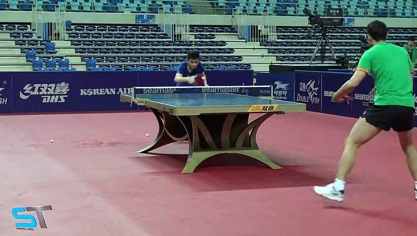 Xu Xin, Fan Zendong  Training