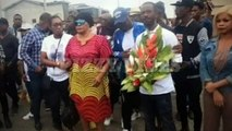 DJ Arafat Burial- His Mum And Celebrity Friends In Tears (DJ Arafat Enterrement)