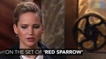 Jennifer Lawrence Made Everyone 'Uncomfortable' While Filming Her Hot Scene In Red Sparrow