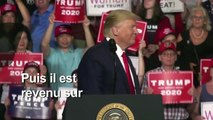 Donald Trump en meeting de campagne dans le New Hampshire