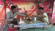 Cambodge : le rat en brochette, un plat populaire