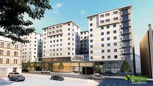 Residential Apartment 3D Walkthrough Animation Video - Interior & Exterior Design Ideas