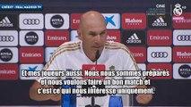 Zinedine Zidane entretient le mystère pour la fin du mercato estival