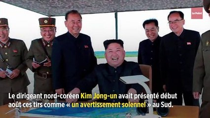 Corée du Nord : deux nouveaux tirs de « projectiles non identifiés »