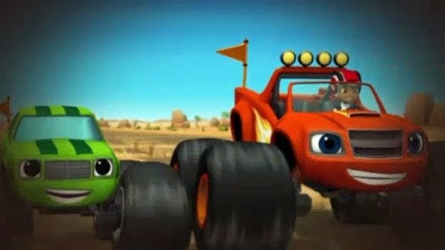 Blaze and the Monster Machines S01E09 The Team Truck Challenge