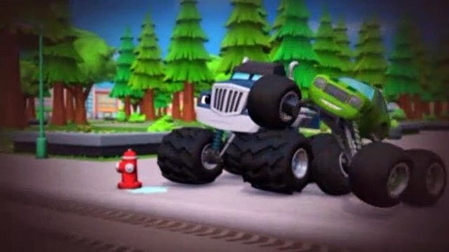 Blaze and the Monster Machines S01E12 The Mystery Bandit
