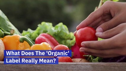 What Does The Organic Label Represent