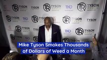 Mike Tyson Has Very Good Weed
