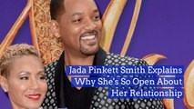 Jada Pinkett Smith Shares Her Marriage With The World