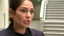 Priti Patel 'devastated' by police officer death