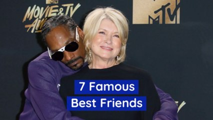 These Celebrities Are BFFs