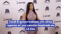 Cardi B quiere trabajar con otras raperas en una canción inspirada en Lil Kim