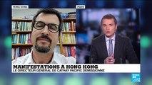 Manifestations à Hong Kong : Démission du directeur général de Cathay Pacific