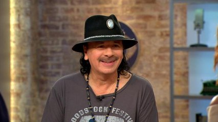 Carlos Santana on what we can learn from Woodstock 50 years later