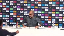 Guardiola says Tottenham are the 'second best team in Europe'