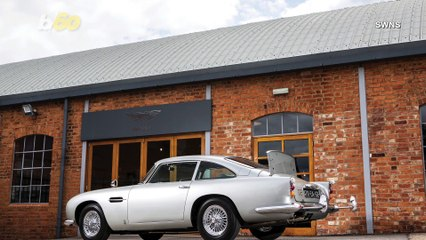 Aston Martin Used In 2 Classic James Bond Films Complete With Gadgets Sold For Record Breaking $6.3 Million!