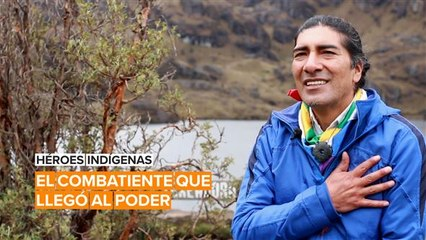 Héroes indígenas: Yaku Pérez es el héroe de Ecuador