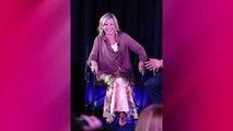 Olivia Newton-John atteinte d'un cancer : Elle se veut rassurante sur son état de santé