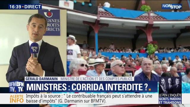 """Gérald Darmanin sur le prélèvement à la source: """"Les Français bénéficieront de cette baisse d'impôt dès le mois de janvier"""""""