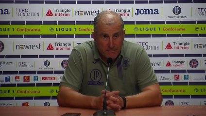 """""""Bonifier le point pris à Brest"""", Alain Casanova avant TFC/Brest"""