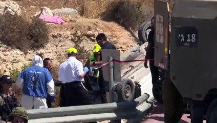 جريحان اسرائيليان في عملية دهس في الضفة الغربية المحتلة