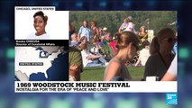 1969 Woodstock Music Festival : Nostalgia for the era of 'peace and love'