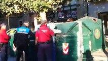 La Policía Foral identifica y denuncia a 4 jóvenes en Tafalla