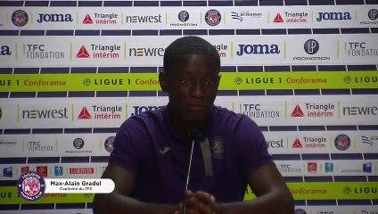 """""""À la maison, c'est trois points obligatoires"""", Max-Alain Gradel avant TFC/Dijon"""