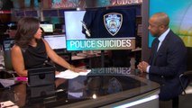 """NYPD commissioner calls officer suicides a """"crisis"""""""