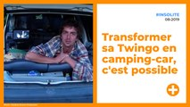 Transformer une Twingo en camping car, c'est possible