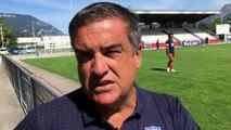 « J'ai confiance dans notre groupe » Michel Martinez, président du FC Grenoble